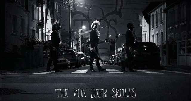 The Von Deer Skulls, a folklore loving, family-like unit gave us the time of day to have a nice little chat.