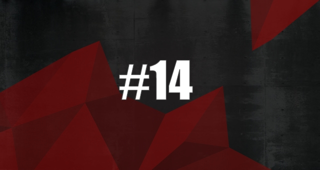 At position #14, we find v's instead of u's.