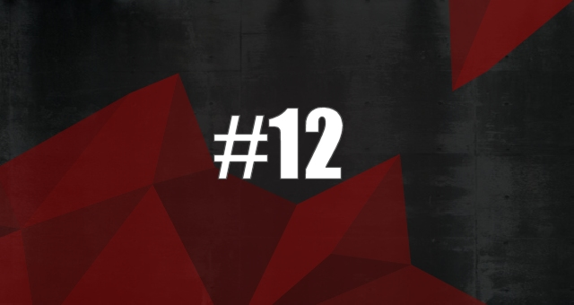 On #12, we try to destroy a higher power with some Harsh EBM mixed with Black Metal.