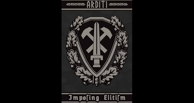 "Arditi maintains their stance as one of the most influential martial industrial bands to hit the genre, cranking out another fantastic display of ideological dominance in ""Imposing Elitism""."